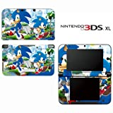 Sonic Generations The Hedgehog Decorative Video Game Decal Cover Skin Protector for Nintendo 3DS XL