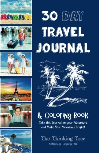 Day Travel Journal Coloring Book product image