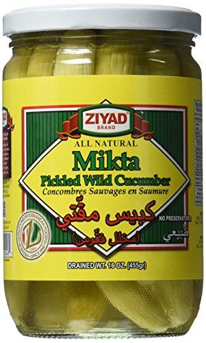 (Ziyad Wild Cucumbers Mikta Pickle, 16 Ounce)
