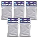 Star City Games 500 Insiders MTG Card Game Sleeves (5x 100 ct. Packs)