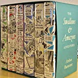 The Swallows and Amazons Adventures by Arthur Ransome, 6 hardcover boxed set (Swallows and Amazons, We Didn't Mean to Go To Sea, Pigeon Post, Swallowdale, Picts and Martyrs, Peter Duck, 6 volume hardcover boxed set)