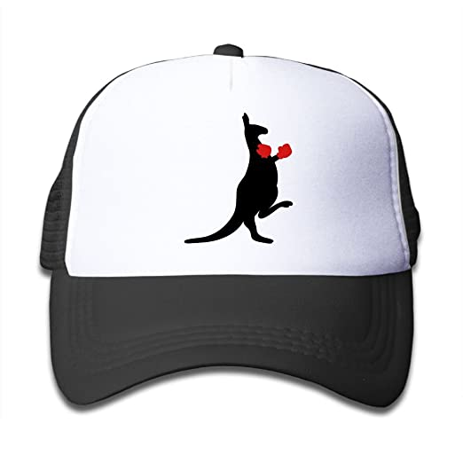 1ab4eb7c2c6 Mesh Baseball Cap Sun Hat Kids Cap Funny Koala Boxing Adjustable Boy Girl