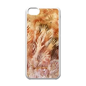 Sexyass Hand IPhone 5C Cases Cave of Hands Hardshell for Girls, Iphone 5c Cases for Teen Girls Hardshell for Girls [White] WANGJING JINDA