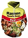 Azuki Design of Ramen Hoodies Good and Birthday Gift