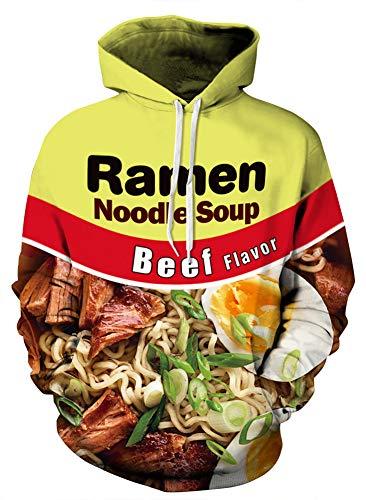 Azuki Absolutely fire Hoodies Ramen Graphic Hoodie Sweatshirt