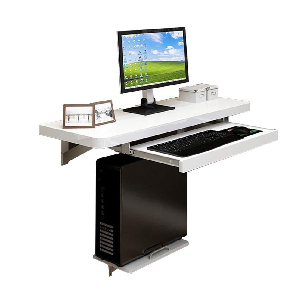 Tavolo pieghevole Chunlan Tavolo Caduto a Parete, Tavolo da Pranzo, scrivania del Computer, scrivania, Bianco