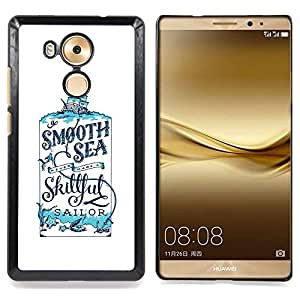 - Sailor Smooth Cologne Sea Smooth - - Snap-On Rugged Hard Cover Case Funny HouseFOR Huawei Mate 8