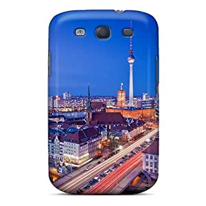 New Diy Design Magnificent Cityscape At Night For Galaxy S3 Cases Comfortable For Lovers And Friends For Christmas Gifts