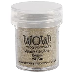 Wow Embossing Powder WOW! Embossing Powder, 15ml, Gold Rich
