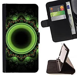 Momo Phone Case / Flip Funda de Cuero Case Cover - Oriental Floral indienne - LG Nexus 5 D820 D821