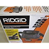 Ridgid 3 Gallon Wet/Dry Vac with Bonus LED Lighted Car Cleaning Nozzle