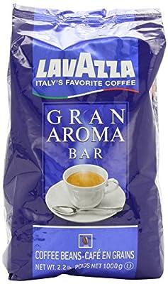 Lavazza Gran Aroma Bar Coffee Beans Value Pack (3 x 2.2 lb bags)