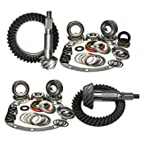 """Nitro (GPXJ825-2-4.88) 8.25"""" Front and Rear 4.88 Ratio Gear Package Kit for Jeep Cherokee XJ with Dana 30/Chrysler"""