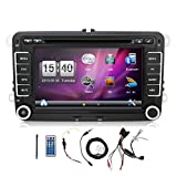 seat leon - Navigation Seller- 2 Din 7 Inch Car DVD Player For VW/Volkswagen/Passat/POLO/GOLF/Skoda/Seat/Leon FM RDS Maps double din car stereo with GPS navigation