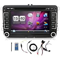 Navigation Seller- 2 Din 7 Inch Car DVD Player For VW/Volkswagen/Passat/POLO/GOLF/Skoda/Seat/Leon FM RDS Maps double din car stereo with GPS navigation