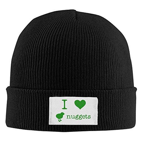 (I Love Chicken Nuggets Man's Slouchy Skull Beanie Hat Logo Print Cherished Beanie Fleece Hat)