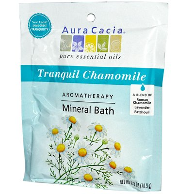 Wholesale Aura Cacia Aromatherapy Mineral Bath Tranquility - 2.5 oz - Case of 6, [Health & Beauty, Aromatherapy]