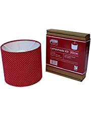 20cm Lampshade Making Kit for Pendants Or Table Lamps