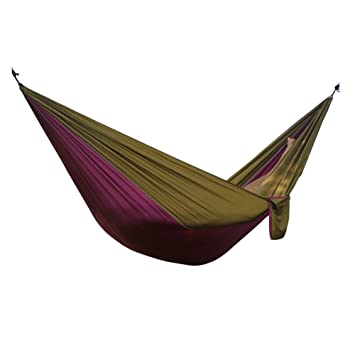 hsl yong purple camel hammock double spell parachute silk hammock amazon     hsl yong purple camel hammock double spell parachute      rh   amazon