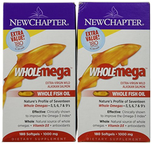 NEW CHAPTER WHOLEMEGA 1000MG 360 CAPS by new chapter