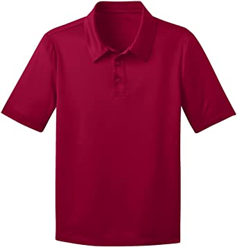 Y540 Navy XS Port Authority Youth Silk Touch Performance Polo
