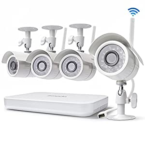 1. Zmodo 8CH Wireless Security Camera System