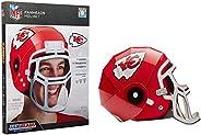 FanHeads Wearable NFL Football Helmets (All Team Options) – Reinforced Laminated Cardboard Adjustable Helmet –