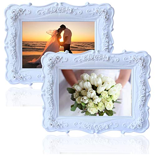 Frame Floral Picture (Olivery Victorian Inspired Flower Photo Frame - 4