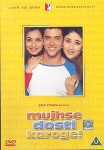 Mujhse Dosti Karoge [Blu-ray] (Bollywood Movie / Indian Cinema / Hindi Film)