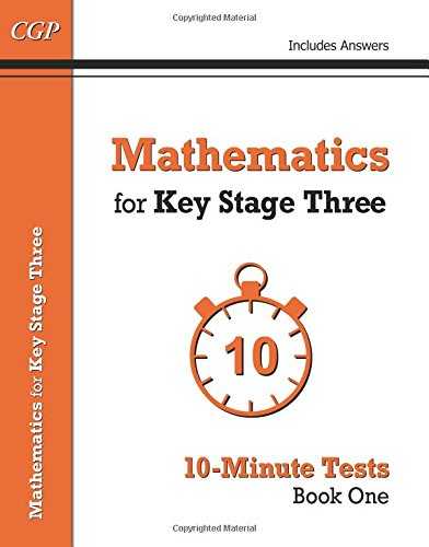 READ Mathematics for KS3: 10-Minute Tests Book 1 [P.P.T]