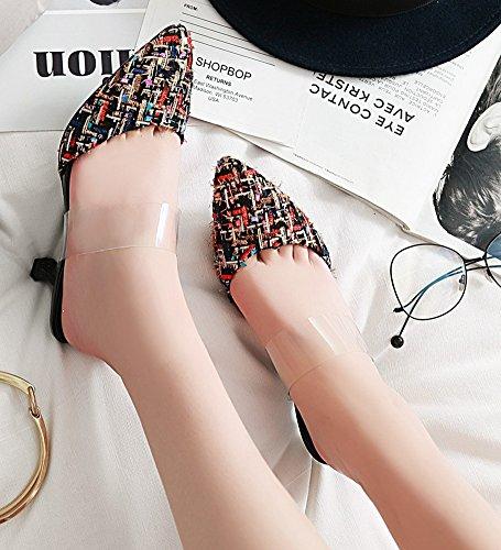 Aisun Femme Mode Mode Femme Color Aisun Carreaux Carreaux RTwEqw