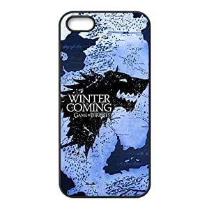 Winter unique map Cell Phone Case for iPhone 5S