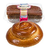 Green's Bakery Traditional Round Challah & Honey Cake Kosher Gift Pack