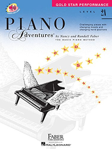 (Level 2A - Gold Star Performance with Online Audio: Piano Adventures)