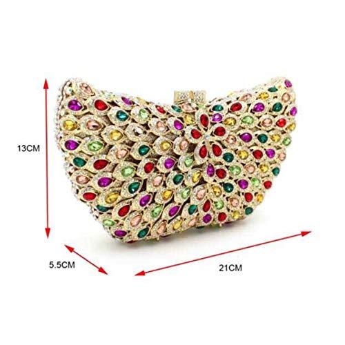 Luxe Soir De 1 Pierres De Main à Précieuses Diamants De Dîner Diamants Sac De Du Sac Pack nqHIZxnWa