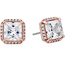 """kate spade new york """"Pave Princess Cut Studs"""" Save The Date Earrings"""