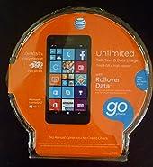 AT&T Go Phone - Microsoft Lumia 640 (Black) - No Contract