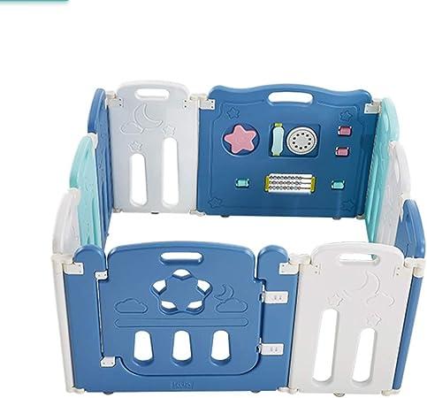Color : A, Size : 190x130x65cm CHAXIA Baby Laufstall Zaun Playpen Gro/ß Spielzeug Spielpl/ätze Lernen Gehen Krabbeln Schutzleiste