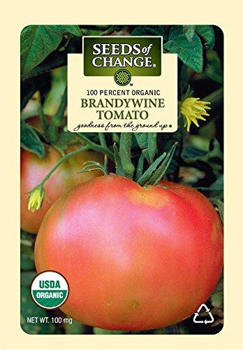 Seeds of Change S10766 Certified Organic Brandywine Heirloom Tomato