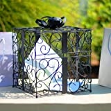 RaeBella Weddings BLACK Reception Gift Card Holder Box