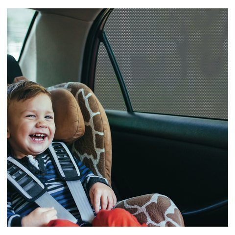 Best Prices! Car Window SunShade - Shield Your Baby from Sun, Glare, UV and Heat - Kids Fun Shade is...