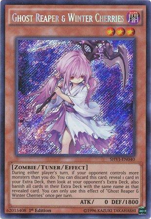 Yu-Gi-Oh! - Ghost Reaper & Winter Cherries, White