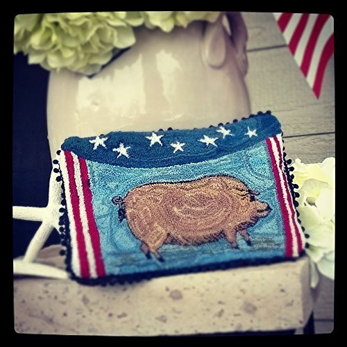 Violet the Little Pig Decorative Pillow ()
