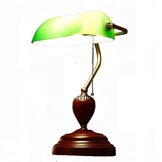 Lámpara de Escritorio de Banker/Lámpara de Mesa clásica/Luz de ...