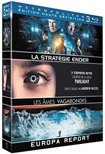 Europa Report + La Stratégie Ender + Les Âmes vagabondes [Blu-ray]