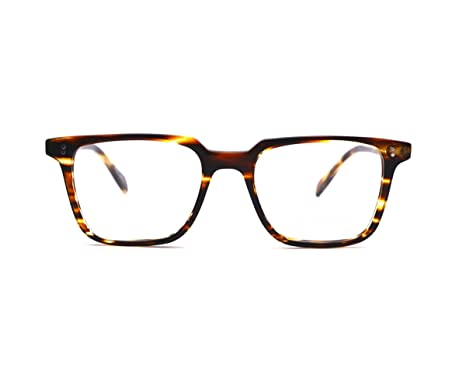 056397693b Amazon.com  X-LARGE Square Eyeglasses Frame Prescription Eyewear Frame for  Men Women 57mm (Round Black color