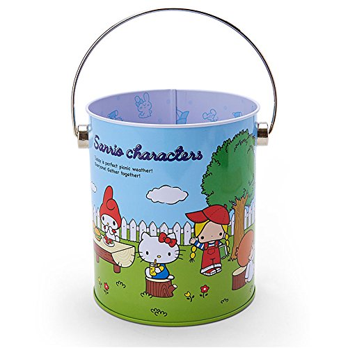 Sanrio Sanrio Characters mini cans bucket '70s Garden From Japan New (70s Dress Up Ideas)