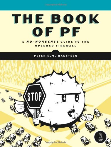 The Book of PF: A No-Nonsense Guide to the OpenBSD Firewall Front Cover