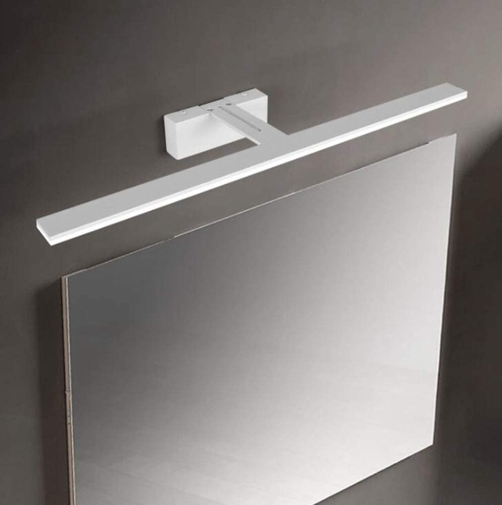 Weiwei LED Specchio bagno lampada Applique da parete a light Fixture acrilico bianco Shell specchio lampada frontale 82cm