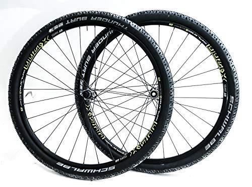 0094376bf DT Swiss X1700 29er Bike Wheelset Tires 12x142 15x100 Thru Axle SRAM XD 11s  New